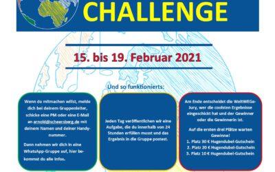 #5-Tage-Challenge 2021 vom 15. bis 19. Februar!