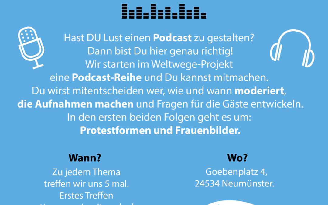 VERSCHOBEN: Podcast