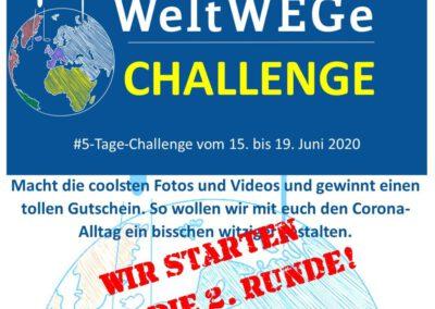 5-Tage-Challenge: Juni – Wir starten in die 2. Runde!
