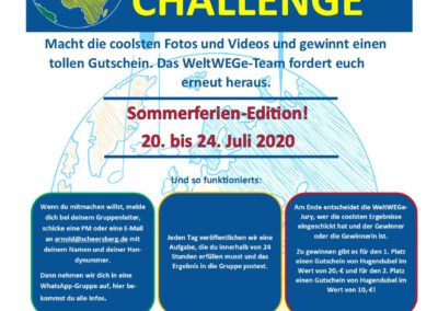 5-Tage-Challenge:Juli – Sommerferien-Edition!