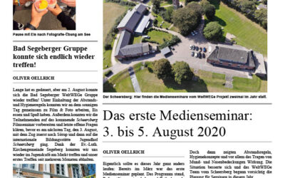 WeltWEGe Zeitung Ausgabe #1 August 2020
