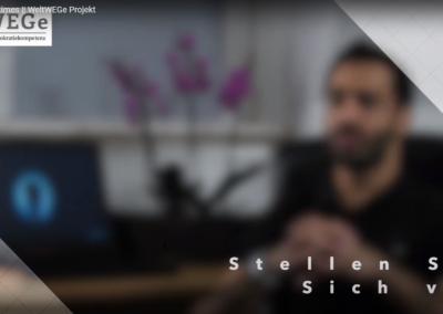 WeltWEGe-Interview mit Alaa Chahrour