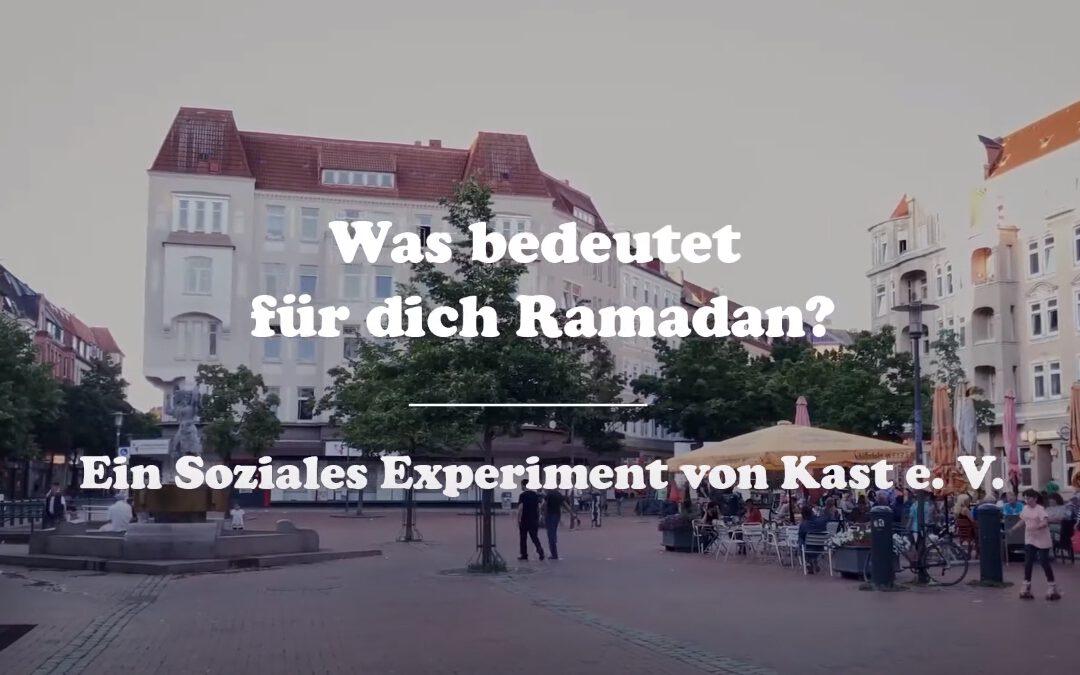 Kiel: Umfrage zum Thema Ramadan