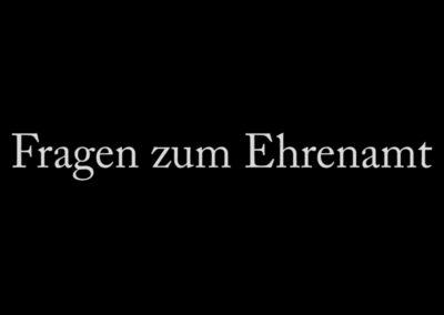 Straßeninterview in Flensburg: Fragen zum Ehrenamt