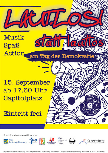 Laut.los! Event in Schleswig