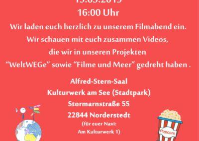 Impressionen vom Filmabend in Norderstedt