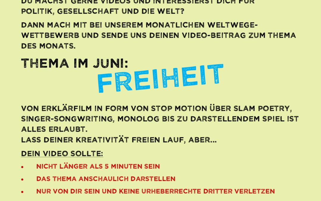 Videowettbewerb Juni 2020