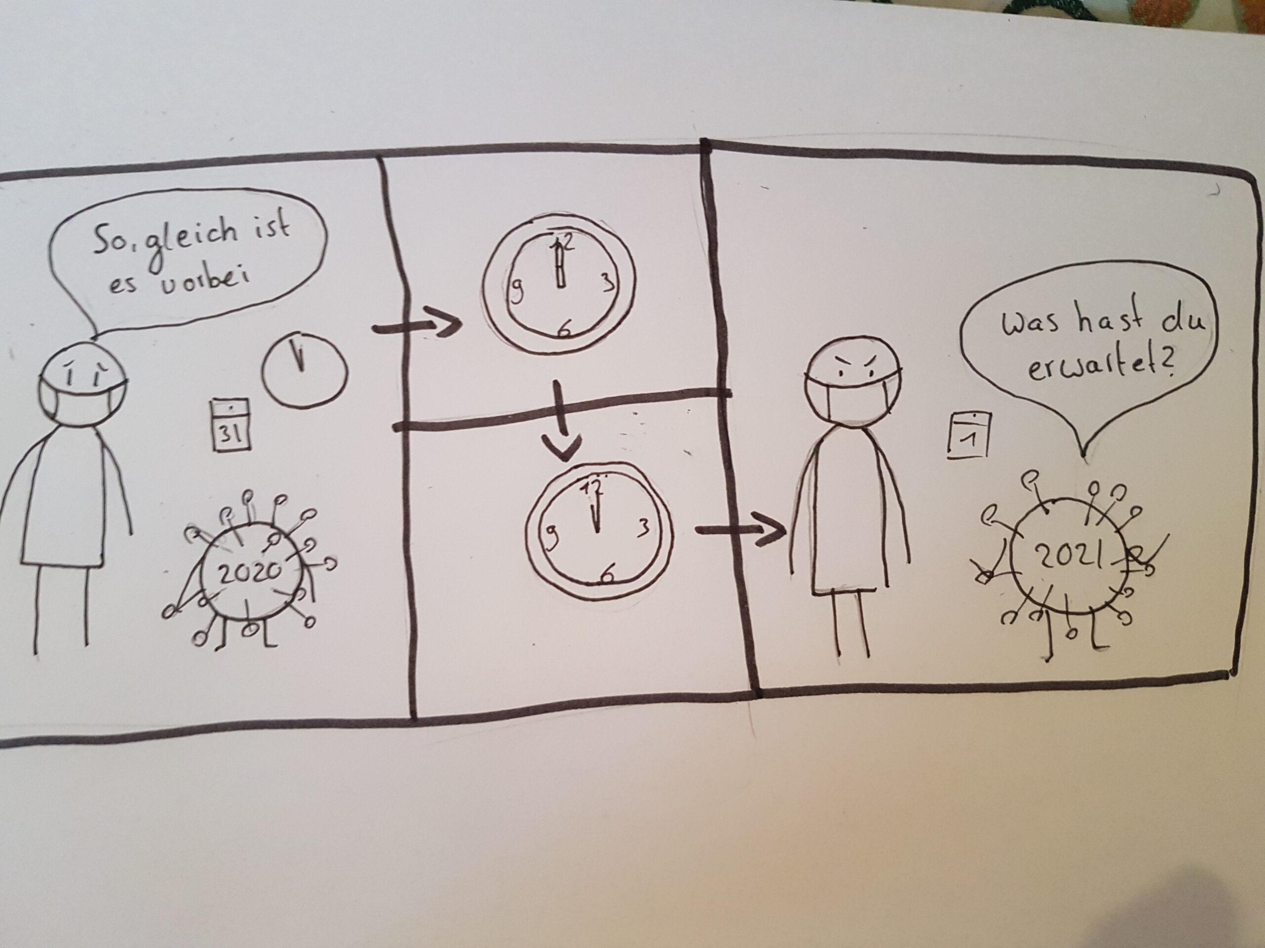"""Ergebnisse vom Comic Seminar """"Comics einfach zeichnen"""""""