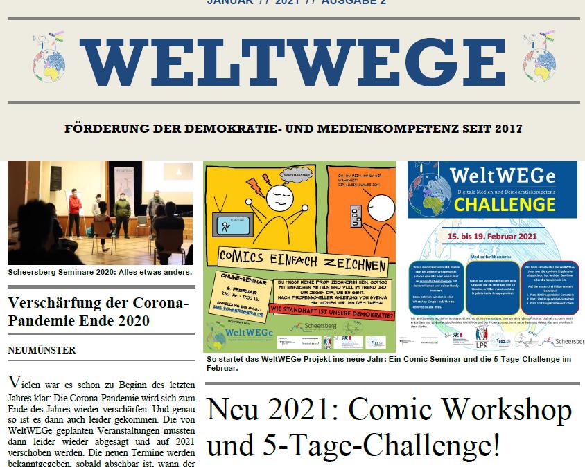 WeltWEGe Zeitung Ausgabe #2 Januar 2021