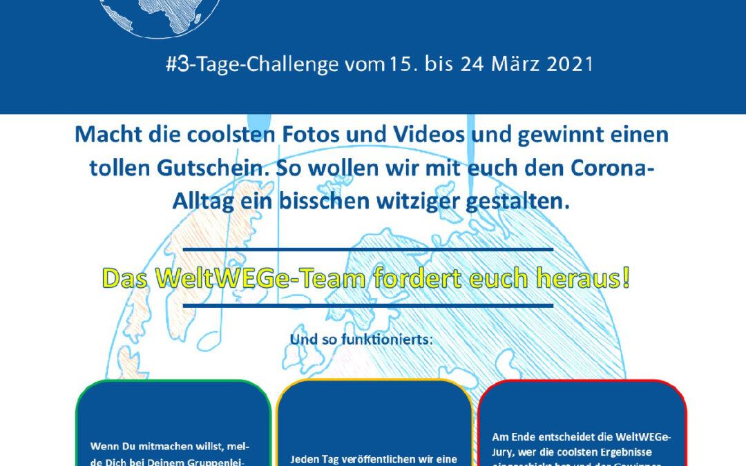Challenge Nr. 3 der 3-Tage-Challenge!