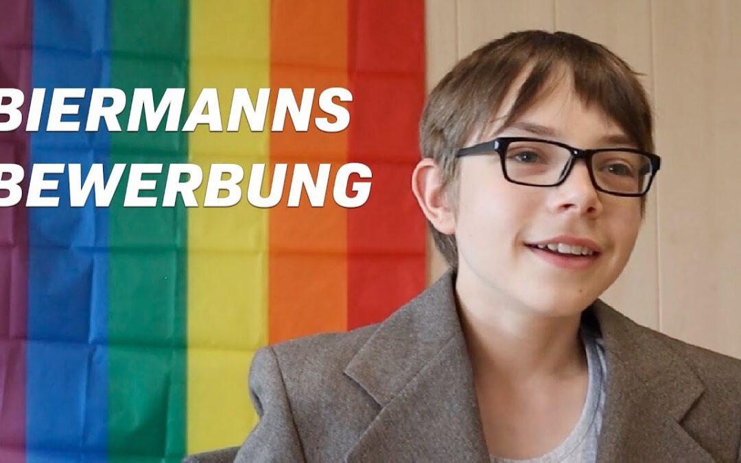 """Scheersberg Seminar 9.-12. Juli – Film """"Biermanns Bewerbungsgespräch"""""""